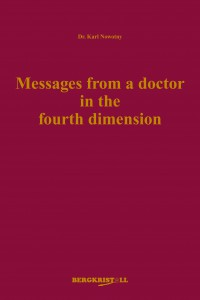 Cover - Dr. Karl Nowotny - Messages from a doctor in the fourth dimension